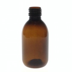 200 ML AMBER PET BOTTLE