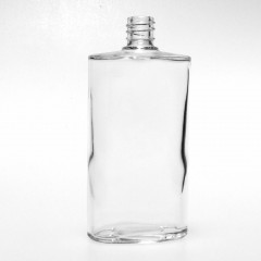 100 ML CLEAR GLASS OVALE BOUILLOTTE