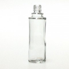 30 ML CLEAR GLASS ROUND BOUILLOTTE