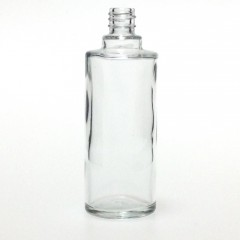 50 ML CLEAR GLASS ROUND BOUILLOTTE