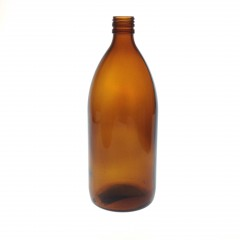 AMBER GLASS 1200 ML BOTTLE  NECK PP 28