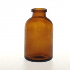 AMBER GLASS 30 ML ANTIBIOTIQUE BOTTLE T2