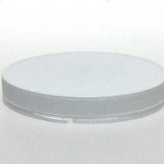 COUVERCLE ENCLIQUETABLE INVIOLABLE PE BLANC SNAPLOCK CAP 111*18