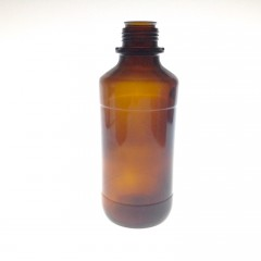AMBER GLASS 1175 ML BOTTLE  NECK 45