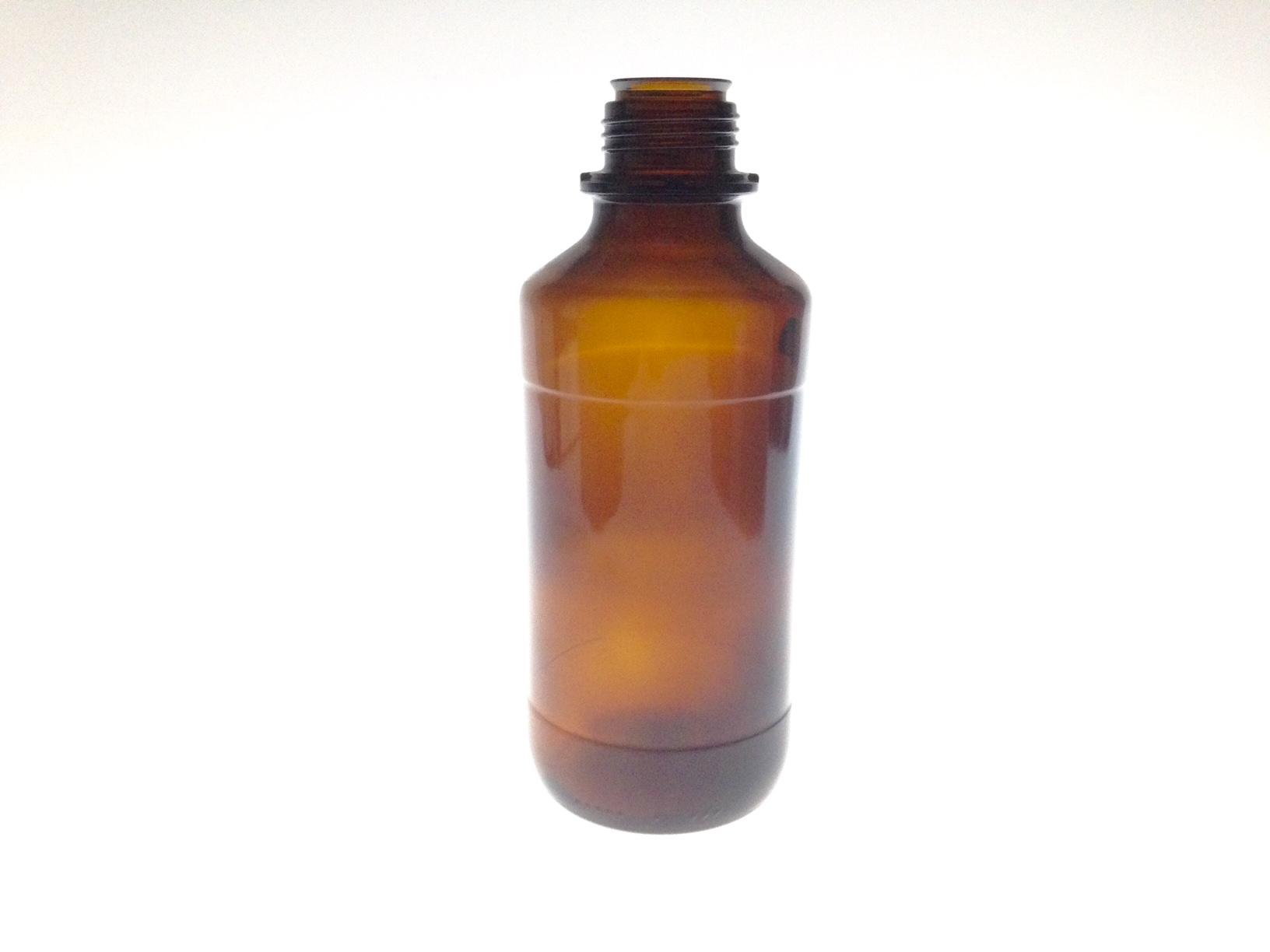 AMBER GLASS 1175 ML BOTTLE  NECK 45