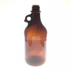 AMBER GLASS 2710 ML BOTTLE  NECK 45