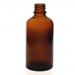 DROPPER BOTTLE AMBER GLASS 60 ML