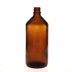 DROPPER BOTTLE AMBER GLASS 200 ML
