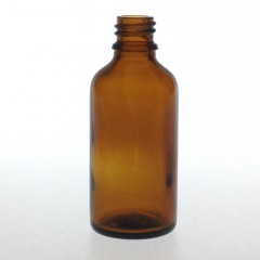 DROPPER BOTTLE AMBER GLASS 50 ML STO