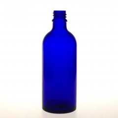DROPPER BOTTLE BLUE GLASS 100 ML