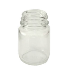 CLEAR GLASS 30 ML R3/33 POWDER