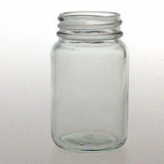 CLEAR GLASS 60 ML R3/38 POWDER