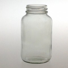 CLEAR GLASS 100 ML R3/38 POWDER