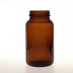 AMBER GLASS 250 ML R3/48 POWDER