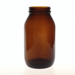 AMBER GLASS 500 ML R3/58 POWDER