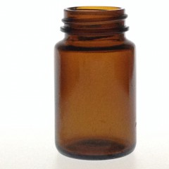 AMBER GLASS 60 ML R3/38 POWDER