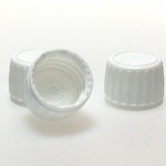 CAPSULE INVIOLABLE PE BLANC PP28 JOINT PE CUVETTE