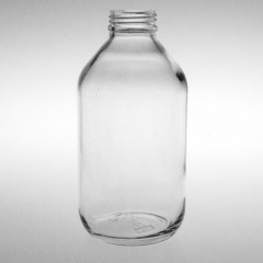WIDE MOUTH CLEAR GLASS 1000 ML BOTTLE PH 40