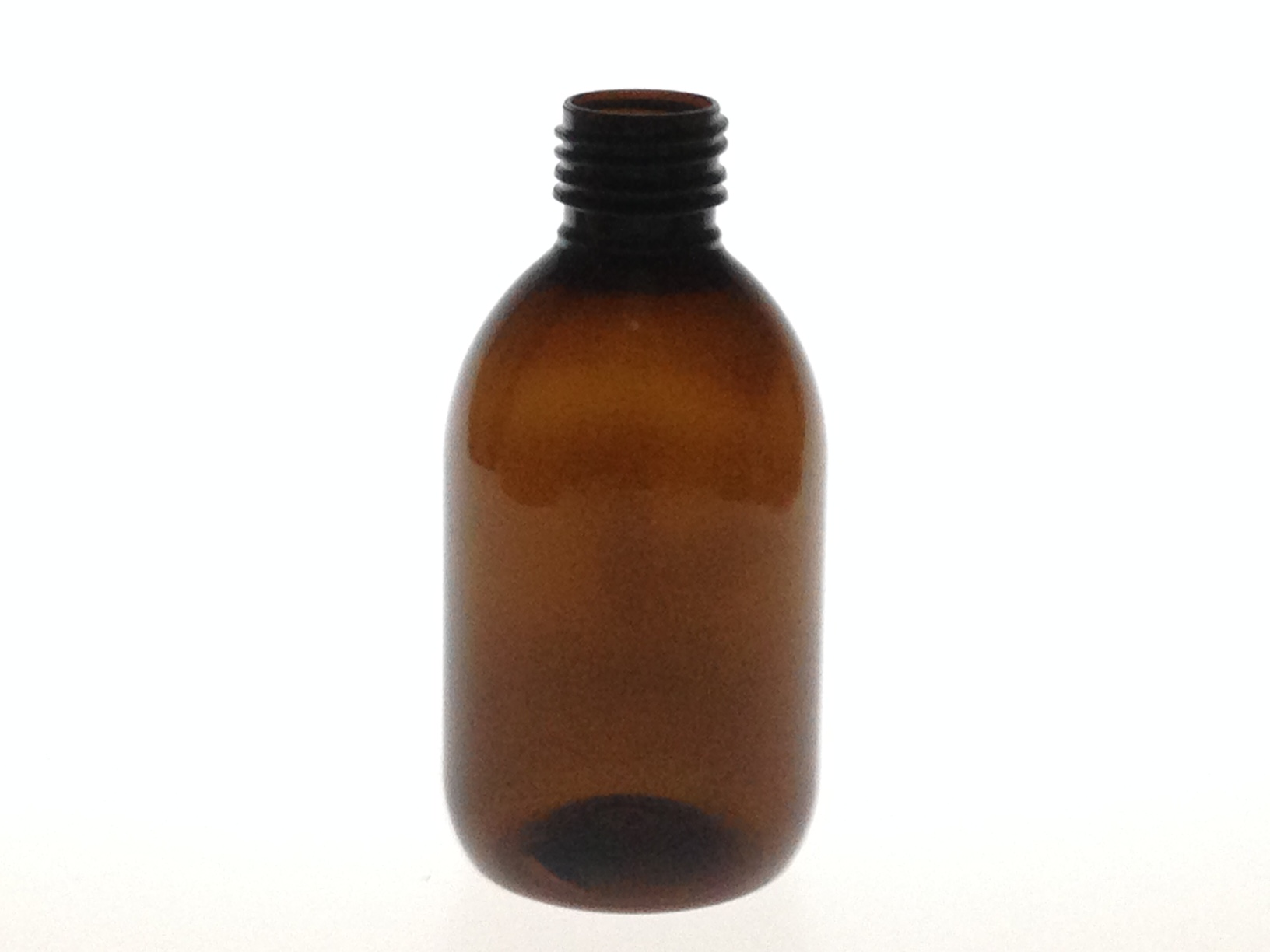 250 ML AMBER PET BOTTLE