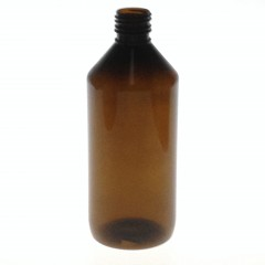 500 ML AMBER PET COMBI BOTTLE