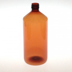 1000 ML AMBER PET BOTTLE
