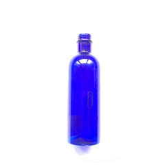 FLACON 200 ML PET BLEU BAGUE PH 20