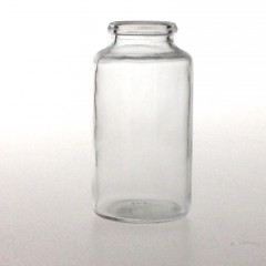 67 ML CLEAR GLASS TABLET JAR