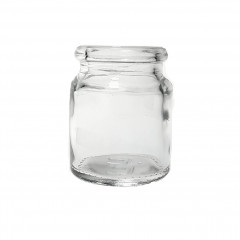12.5 ML CLEAR GLASS TABLET JAR