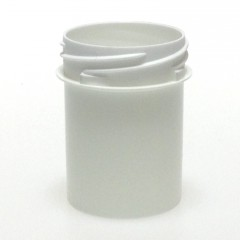 POT VISSANT INVIOLABLE 40/50 ML PP BLANC SCREWLOCK JAR 35*52