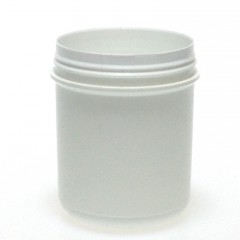 POT INVIOLABLE ENCLIQUETABLE 65 ML PP BLANC SNAPLOCK JAR 45*50