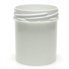 POT VISSANT INVIOLABLE 150 ML PP BLANC SCREWLOCK JAR 55*70