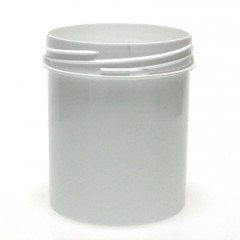 POT VISSANT INVIOLABLE 250 ML PP BLANC SCREWLOCK JAR 65*85