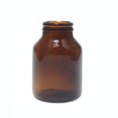 125 ML JAY-CAP AMBER GLASS TABLET JAR