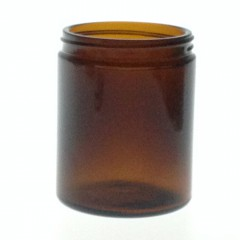 180 ML R3/63 AMBER GLASS JAR