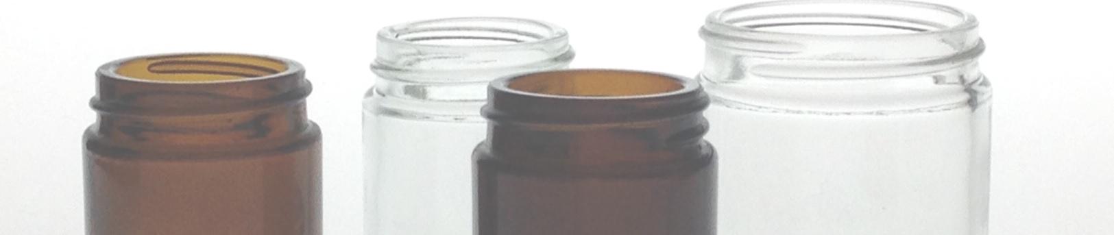 Pots pharmaceutiques en verre