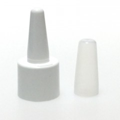 DIN 18 WHITE NASAL BUTTON