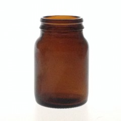 60 ML JAY CAP AMBER GLASS TABLET JAR
