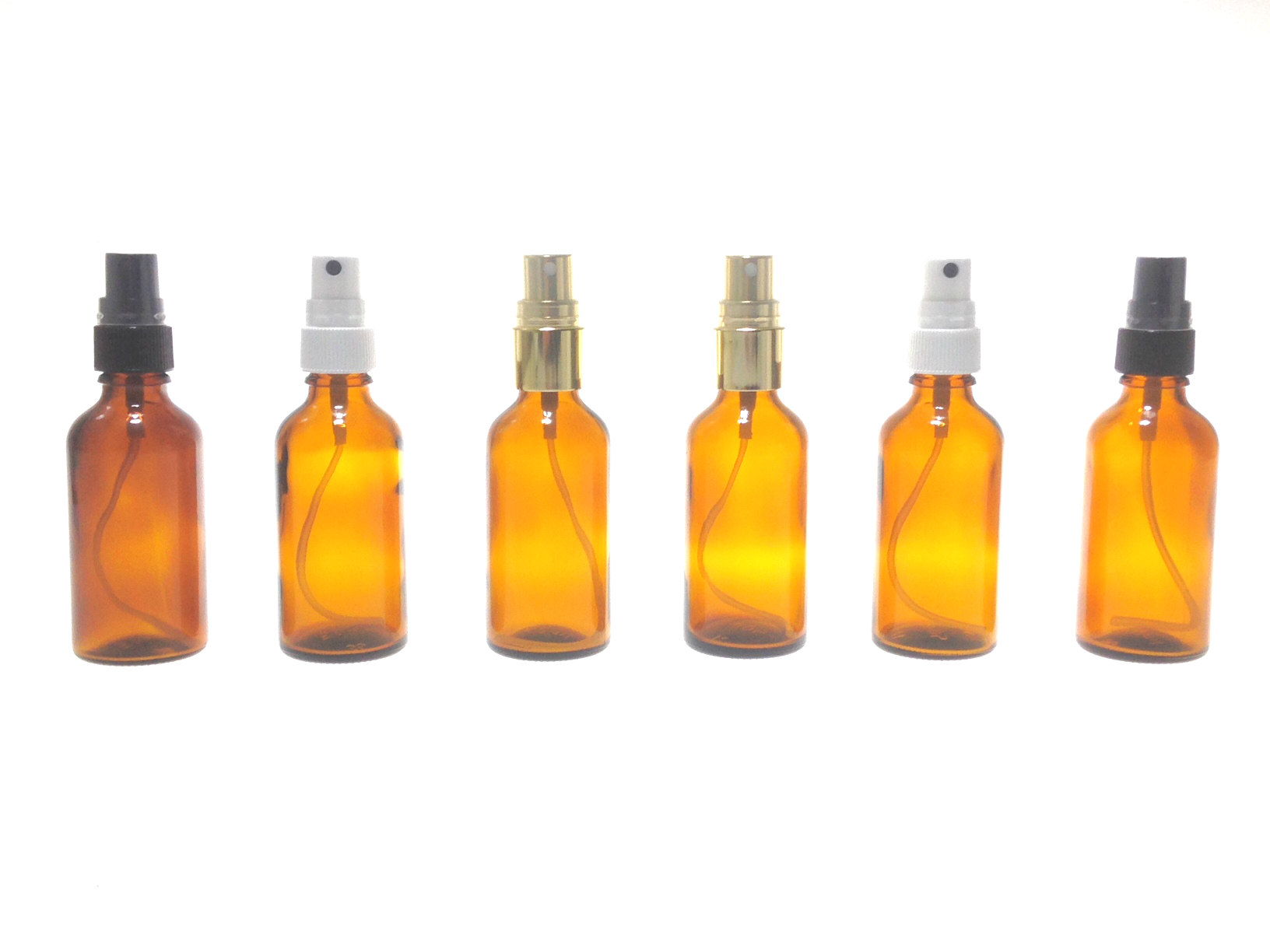 Pompes spray pour flacons d'huiles essentielles