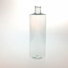 FLACON TUBULAR 200 ML PET CRISTAL 24/415