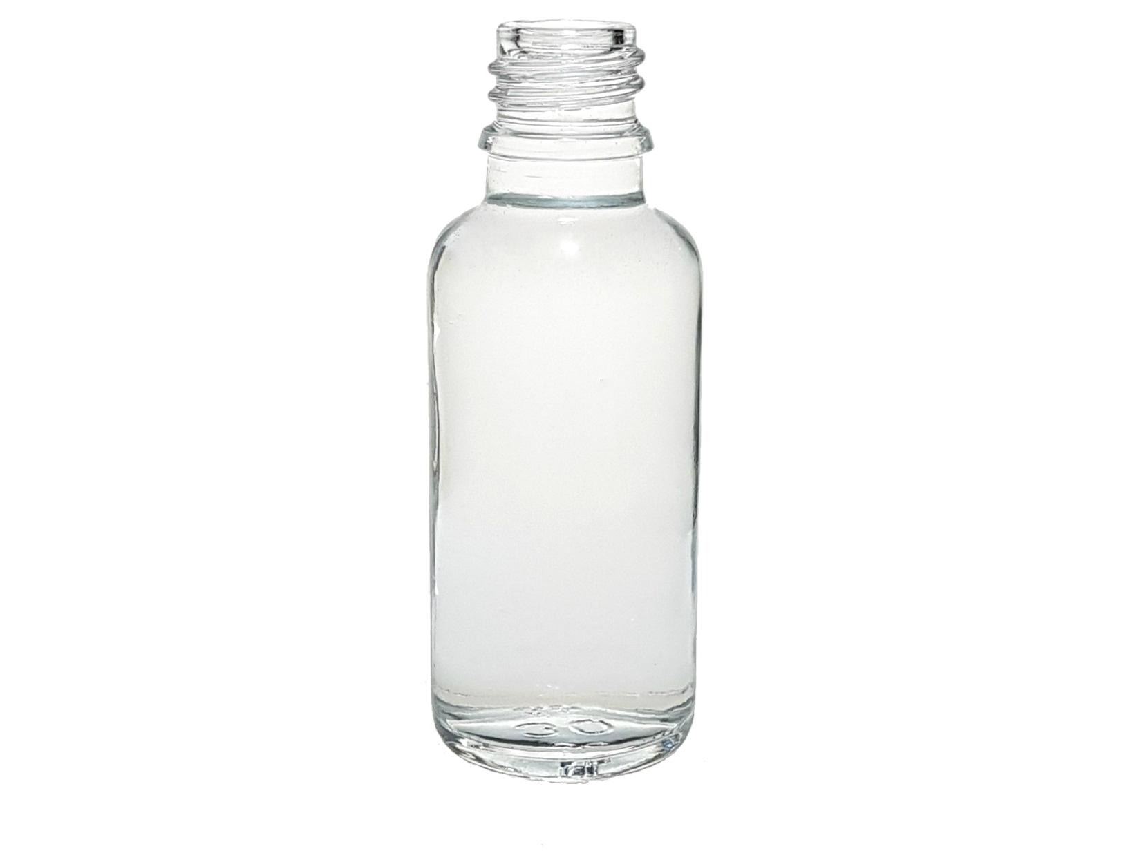 DROPPER BOTTLE 30 ML WHITE GLASS DIN 18