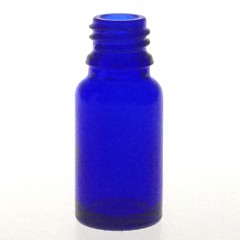 DROPPER BOTTLE BLUE GLASS 10 ML