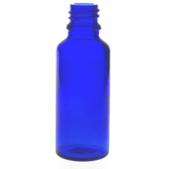 DROPPER BOTTLE BLUE GLASS 30 ML