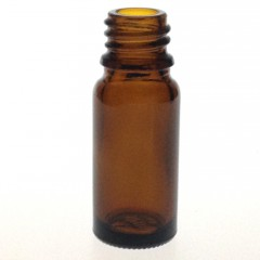 DROPPER BOTTLE AMBER GLASS 10 ML