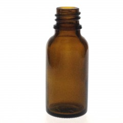 DROPPER BOTTLE AMBER GLASS 20 ML STO