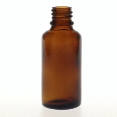 DROPPER BOTTLE AMBER GLASS 30 ML