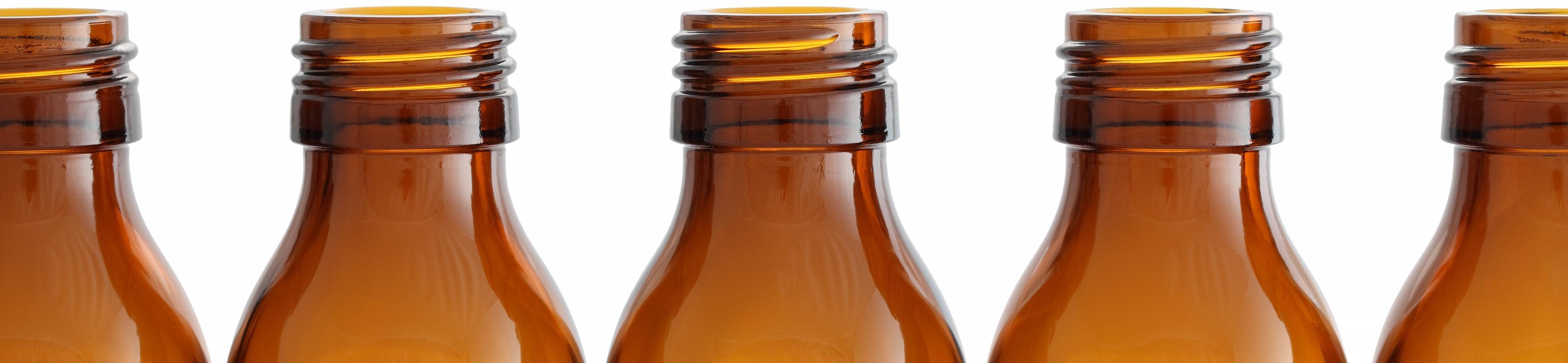 Amber glass bottles PH