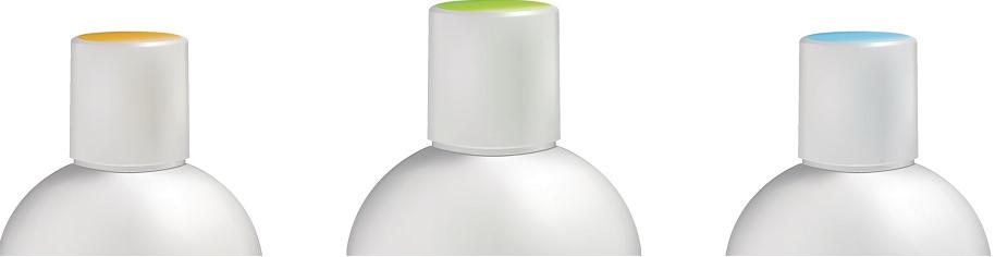 Flacons cosmétique plastique